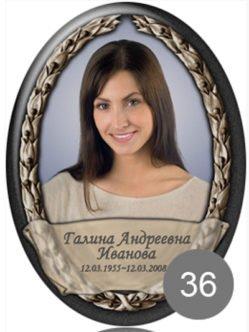 Фотокерамика на памятник 36 в Санкт-Петербурге