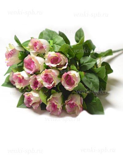 Букет бутонов роз Брора — сиреневый - Фото 1 | Компания «Венок»