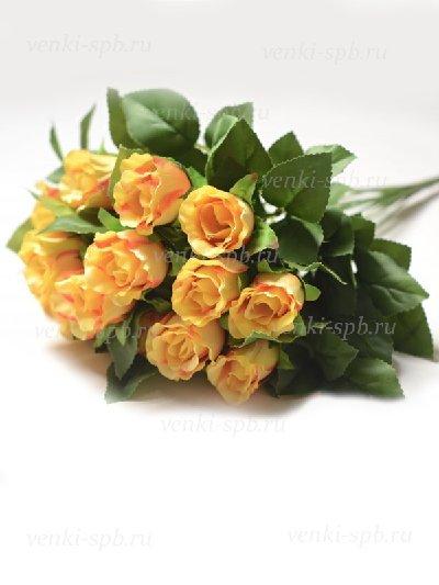 Букет бутонов роз Брора – желтый - Фото 1 | Компания «Венок»