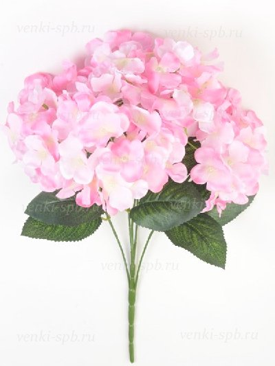 Букет гортензии ЭЙРТ — розовый - Фото 1 | Компания «Венок»