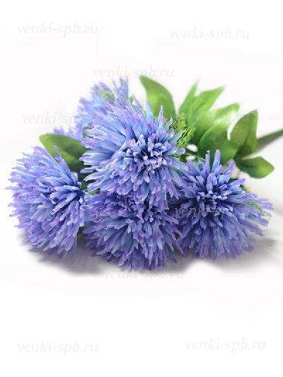 Букет хризантемы Грасмер — голубой - Фото 1 | Компания «Венок»