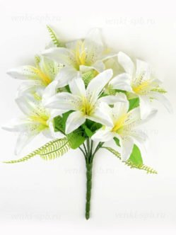 Букет лилии Карвуд белый