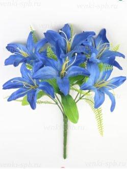 Букет лилии Карвуд синий