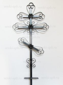 Крест металлический М1