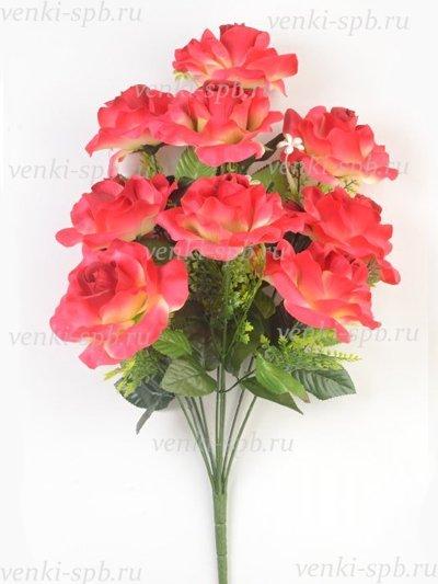 Букет роз Сен-бис — малиновый - Фото 1   Компания «Венок»