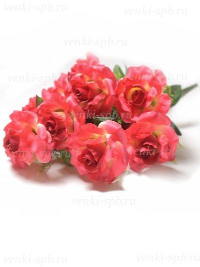Букет роз Сен-бис — малиновый - Фото 2   Компания «Венок»