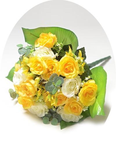 Букет-клумба Бревуд желтый - Фото 2   Компания «Венок»