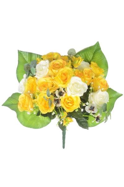 Букет-клумба Бревуд желтый - Фото 1   Компания «Венок»