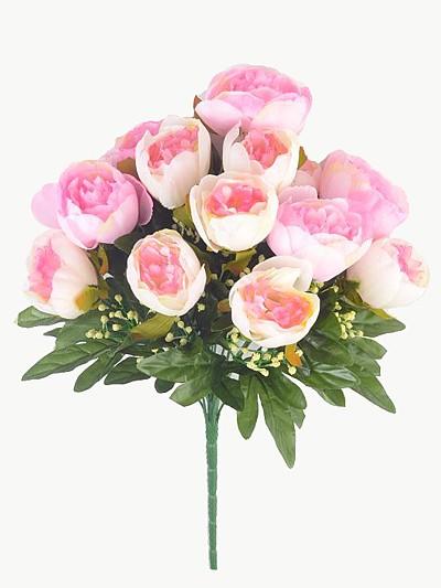 Букет пионов Пембри – розовый - Фото 2 | Компания «Венок»
