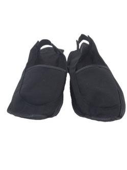 Черные тапочки для мужчин задник на резинке