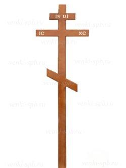 Купить сосновый крест простой в Спб
