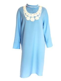 Голубое платье в гроб для женщины Дамское купить