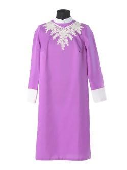 Сиреневое платье для усопшей Милорада купить в спб