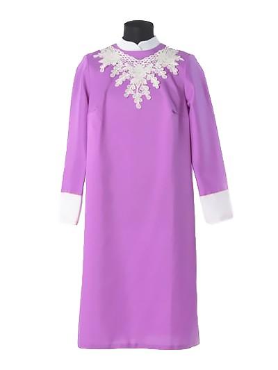 Платье для погребения «Милорада» сиреневый - Фото 1 | Компания «Венок»