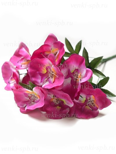 Букет орхидей Редсток — сиреневый - Фото 1 | Компания «Венок»