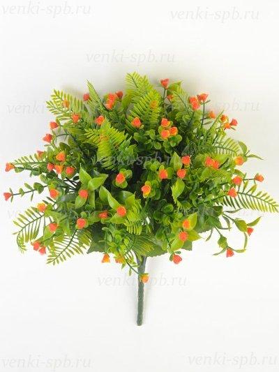 Букет гипсофилы Шасье – оранжевый - Фото 1 | Компания «Венок»