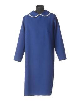 Темно-синее простое платье в гроб для умершей в Санкт-Петербурге