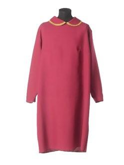 Простое бордовое платье для усопшей купить в спб