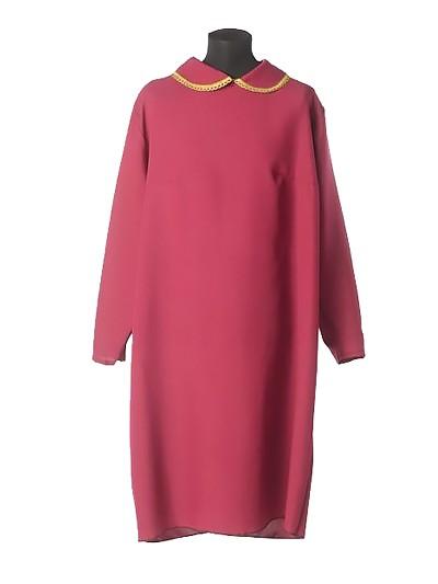 Платье в гроб простое бордовое - Фото 1 | Компания «Венок»