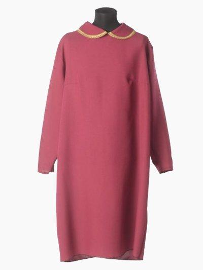 Платье в гроб простое бордовое - Фото 2 | Компания «Венок»