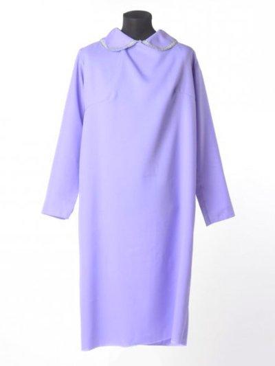 Платье в гроб простое сиреневое - Фото 2 | Компания «Венок»