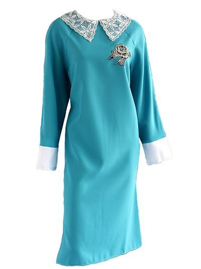 Платье в гроб с аппликацией - Фото 1   Компания «Венок»