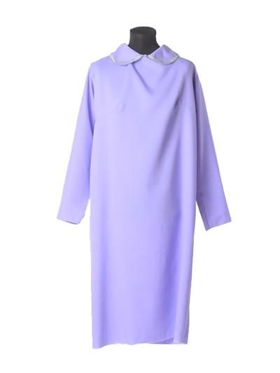 Платье в гроб простое сиреневое - Фото 1 | Компания «Венок»