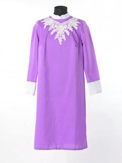 Платье для погребения «Милорада» сиреневый - Фото 2 | Компания «Венок»