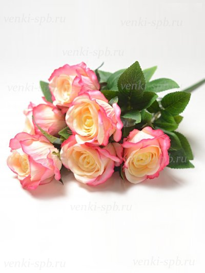 Букет роз Келсо — розовый - Фото 1 | Компания «Венок»