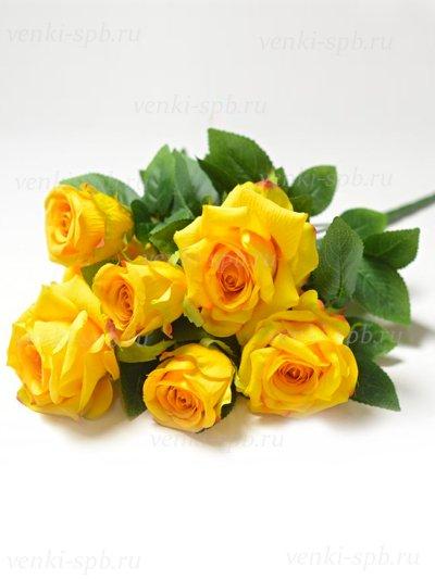 Букет роз Глазбури — желтый - Фото 2 | Компания «Венок»