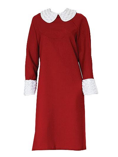 Платье для погребения София – бордо - Фото 1   Компания «Венок»