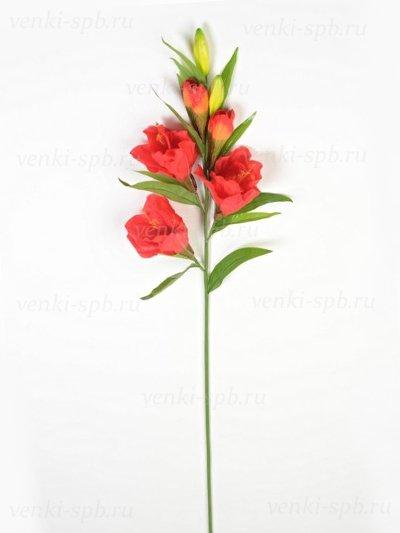 Искусственные цветы Амарилис красный (130 см) - Фото 1 | Компания «Венок»