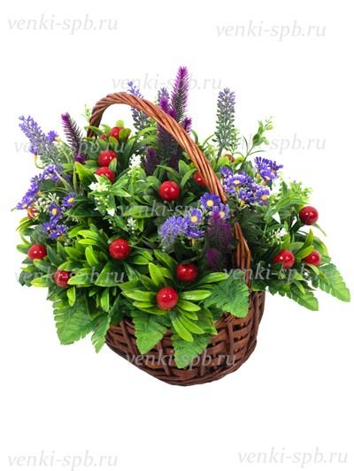 Ритуальная корзина Лесная - Фото 3 | Компания «Венок»