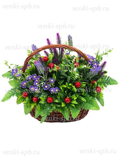 Ритуальная корзина Лесная - Фото 1 | Компания «Венок»
