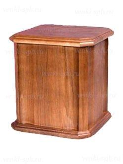 Урна для праха деревянная №17