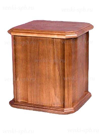 Урна для праха деревянная из дуба (модель 17) - Фото 1 | Компания «Венок»