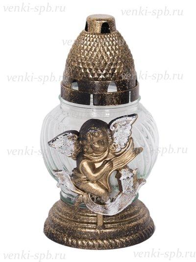 Лампада большая «Ангел» белоснежная - Фото 1 | Компания «Венок»