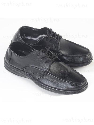 Туфли мужские ритуальные - Фото 1 | Компания «Венок»