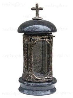 Гранитная лампада с металлическим корпусом №2 спб