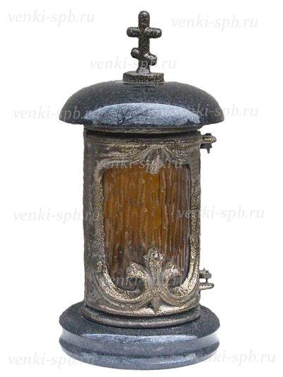 Гранитная лампада №3 - Фото 1 | Компания «Венок»