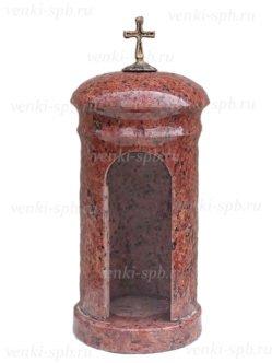 Купить гранитную лампаду к памятнику №15 в спб