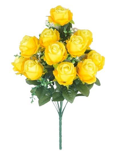 Букет бутонов роз ДИЗЕРТ желтый - Фото 1   Компания «Венок»