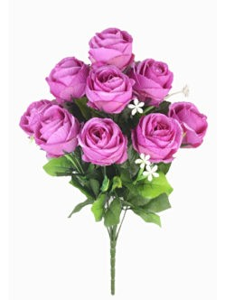 ДИЗЕРТ Букет бутонов роз сиреневый на кладбище в Санкт-Петербурге