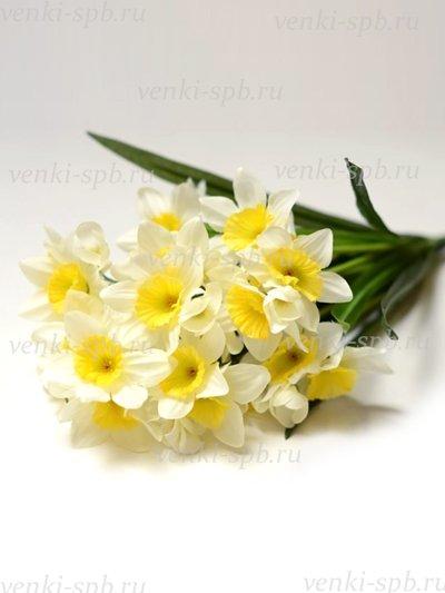 Искусственные цветы ТАКЕР букет нарциссов - Фото 1 | Компания «Венок»