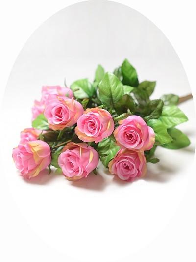 Букет бутонов роз ТРЕНТ- малиновый - Фото 1 | Компания «Венок»