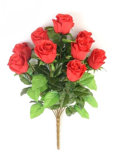 Букет бутонов роз ТРЕНТ- красный - Фото 3 | Компания «Венок»