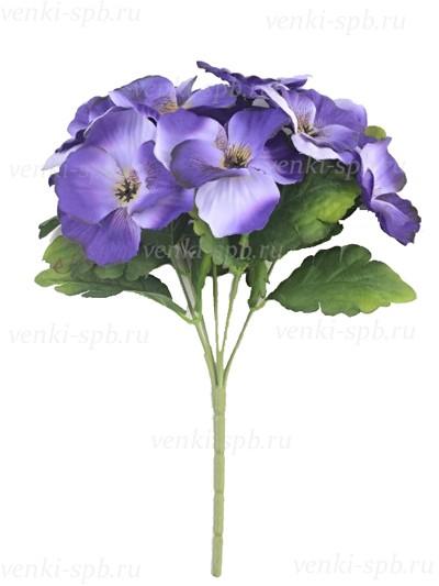 Искусственные цветы Букет анютиных глазок в ассортименте - Фото 1   Компания «Венок»
