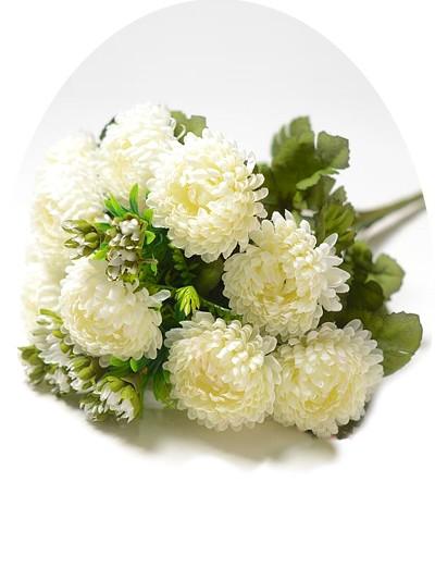 Букет хризантем Фейленд — белый - Фото 1 | Компания «Венок»