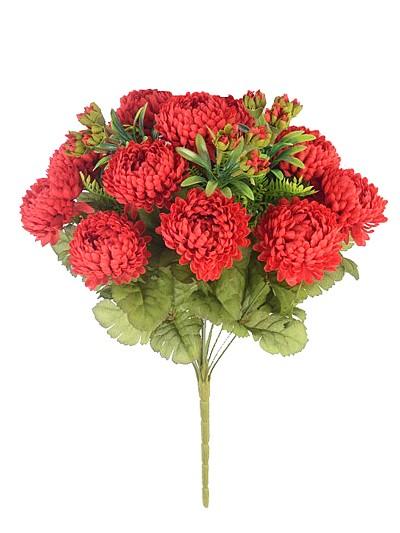 Букет хризантем Фейленд — красный - Фото 2   Компания «Венок»