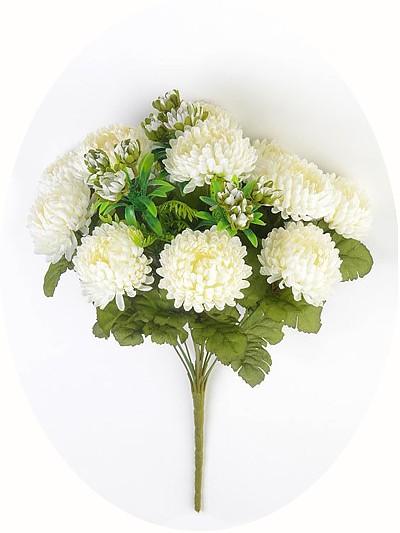 Букет хризантем Фейленд — белый - Фото 3 | Компания «Венок»